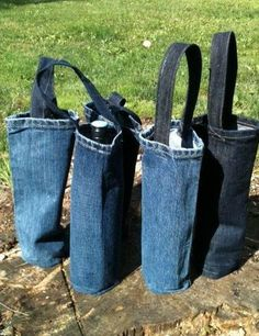 Good Photo 17 Unimaginable Ways To Upcycle Old Jeans - HomelySmart Thoughts I. - Good Photo 17 Unimaginable Ways To Upcycle Old Jeans – HomelySmart Thoughts I enjoy Jeans ! Diy Jeans, Jeans Refashion, Jean Crafts, Denim Crafts, Upcycled Crafts, Repurposed, Artisanats Denim, Denim Bags From Jeans, Jean Diy