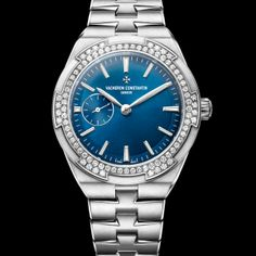 Best luxury watches for women no. 8. Vacheron Constantin Overseas Small Model. The women's Overseas Small Model is a precision mechanical self-winding timepiece prominently featuring the hallmark of Geneva certification.