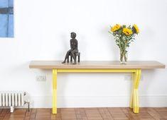 table console moderne de design contemporain fonctionnel