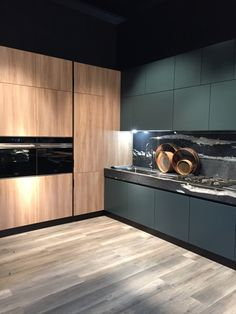 Rose gold tapware seen in this kitchen
