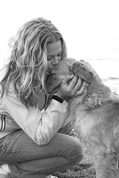 Dogs show their affection and love...with their nose and top of heads...so cute!!!!.....b♡