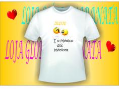 camiseta jesus é o médico dos médicos