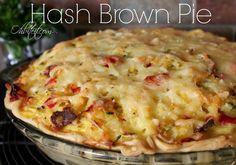Hash Brown Pie!