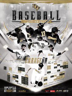 UCF Baseball poster 2013-2014