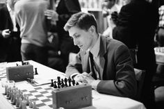 Robert James (Bobby) Fischer was the first American to become official World Chess Champion. His stunning triumph propelled him into the firmament of chess