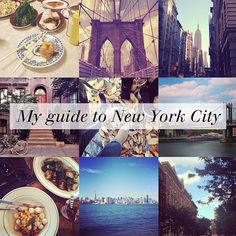 by another pinner: Traveling to #NYC? Check out my New York City guide.