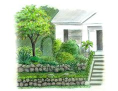 how to terrace a steep sloped yard - Google Search