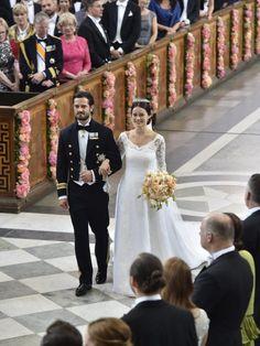 Endlich sind sie verheiratet: Prinz Carl Philip und Prinzessin Sofia von Schweden