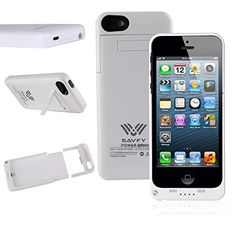 Funda Batería iphone 5 / 5s , SAVFY® Case carcasa Con Batería Cargador-batería Externa Recargable 3200mAh Para iPhone 5 / 5s (Blanco) - http://www.tiendasmoviles.net/2016/09/funda-bateria-iphone-5-5s-savfy-case-carcasa-con-bateria-cargador-bateria-externa-recargable-3200mah-para-iphone-5-5s-blanco/