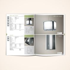 "Product catalogue 2012 / ""Air & light"" by Stefano Menconi, via Behance Catalogue Layout, Product Catalogue, Product Catalog Design, Catalogue Design, Product Design, Editorial Layout, Editorial Design, Flyer Design, Branding Design"