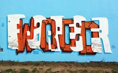 Multiple Word Graffiti by Peter Preffington