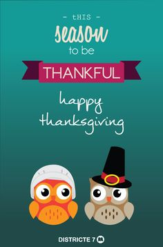 Today is a day to be grateful ... ¡Happy Thanksgiving Day!