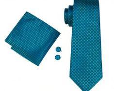20 Styles Multi Color Silk Tie, Handkerchief and Cufflinks FREE Worldwide Shipping Real Leather Belt, Tie Set, Mans World, Jacquard Weave, Silk Ties, Cufflinks, Cotton, Style, Free