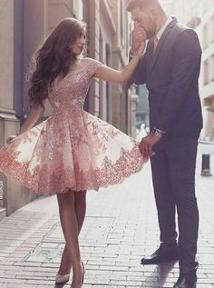 Blush laces Dress