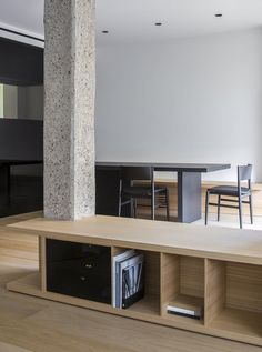 View the full picture gallery of Rm Apartment Sliding Panels, Coworking Space, Interior Design Studio, Drawing Room, Apartment Interior, Interior Architecture, Furniture, Home Decor, Gallery