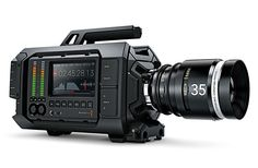 Blackmagic URSA: a surprisingly affordable 4K video camera designed for professional filmmakers. Features include a 10-inch fold out monitor, large user upgradeable Super 35 global shutter, 4K image sensor, 12G-SDI and internal dual RAW and ProRes recorders //