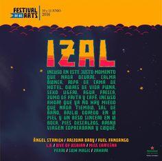Te recordamos que @IZALmusic estaran en #Junio en #FestivaldelesArts #VisteMusica http://www.latiendadelosartistas.com/es/73-fabricantes-del-merchandising-oficial-de-izal