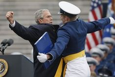 How To Thank A Soldier, By George W.   Bush.. a series of pics you will love..