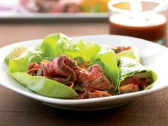 Cook Once, Eat All Week: London Broil: Friday: Thai Beef Lettuce Wraps http://www.prevention.com/food/cook/london-broil-leftovers?s=7&?cm_mmc=MSN-_-10+Gross+Food+Trends