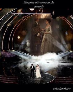 Imagine Outlander at the Peoples Choice Awards by  @lindatellier3