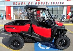 Honda Pioneer 1000 EPS with aftermarket wheels & tires pictures @ www.HondaProKevin.com   Custom 2016 Honda Pioneer 1000 & 1000-5 Pictures / Photo Gallery   Honda-Pro Kevin