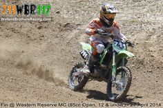 Fin Walters #711 @ Western Reserve MC (85cc Open, 12 & under) - 27 April 2014  #WaltersBrothersRacing #711WBR117 #Motocross #MX #AnySportHeroCards #AXO #BrapCap #DT1Filters #DunlopTires #EKSBrandGoggles #FafPrinting #Kalgard #K3offroad #MikaMetals #MotoSport #RiskRacing #SlickProducts #SpokeSkins #StepUpMX #dirtbike #Kawasaki #KX #KX85 #85cc #Walters #Brothers #Racing #Fin #CRA #WesternReserve