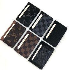 Louis Vuitton Mens Wallet, Louis Vuitton Totes, Gucci Wallet, Louis Vuitton Handbags, Coin Card, Card Wallet, Card Case, Mens Card Holder, Card Holders