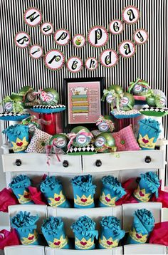 Princess and the Pea party display