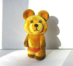 Bear Toy Soviet 1980 Olympic Games Mascot USSR by MerilinsRetro