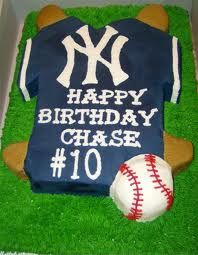 I want my third son to be named Chase, and he can certainly have this cake.... Just as long as its a Cubs logo instead =]