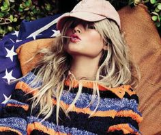 Unusually Patriotic Editorials - The Vogue Spain May 2012 'American Dream' Photoshoot is (GALLERY)