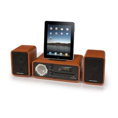 Audiophile Shelf System by Crosley Radio - Music Players & Speakers on Fab - The World's Design Store