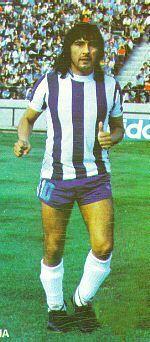 José Daniel Valencia.Campeón Mundial con la Selección Argentina en FIFA World Cup Argentina 1978.
