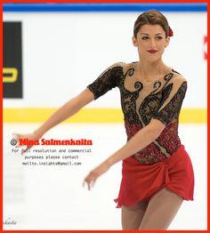 Samantha Cesario USA at Finlandia Trophy Oct 2014