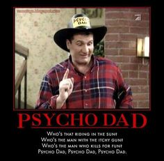 Image: Nsaney'z Posters II: Al Bundy: Psycho Dad - Picture and Video Motivational Quotes For Job, Tv Quotes, Sarcasm Quotes, Family Quotes, Movie Quotes, Kids Comedy, Comedy Tv, Funny Pix, Funny As Hell