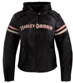 Harley Davidson Women's Leather Jacket 97038-11VW