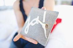 a cute ring pillow