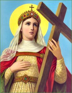 St. Helena of the True Cross Was aged over 60yrs before she became a Christian. She was the Mother of the first Christian Emperor, Constantine. Feast day 18 August.