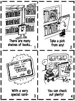 Library Activities and Library Cards - Theme Unit - Printables, Worksheets, and Lesson Plans
