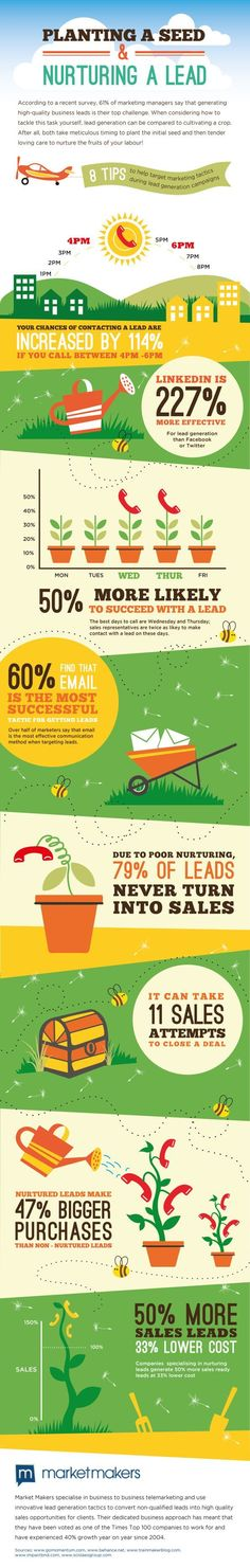 8 Tips To Help Target #Marketing Tactics During Lead Generation Campaigns #infographic