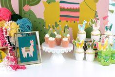 mesa de cactus de cerca