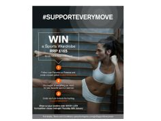 #Supporteverymove: Win a sports wardrobe worth £165! Follow the simple instructions below… Follow Love Panache on Pinterest and create a board called #supporteverymove • Create a board based on your favourite sport or exercise, the more creative the better! • Include pins that will inspire new comers to the activity • Under each pin include the #Supporteverymove hashtag • GOOD LUCK Competition closes midnight Thursday 30th January 2014