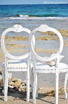 ALL ABOUT HONEYMOONS - Check us out on Facebook!  https://www.facebook.com/AAHsf  His and her chairs