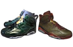 Authentic Air Jordan Retro 6 Cigar And Champagne Pack For Sale Online Free Shipping http://www.theblueretro.com/