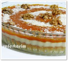 KABAKLI PASTA Gourmet Recipes, Snack Recipes, Dessert Recipes, Desserts, Pumpkin Pie Recipes, Cake Recipes, Italian Chicken Dishes, Mousse Au Chocolat Torte, Party Finger Foods