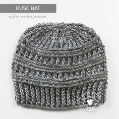 Rusc is a free hat pattern that is rich in texture, and super easy to crochet as it only contains front post and back post stitches. No frustrating slip stitches here.Instructions are included below to turn Rusc into a messy bun hat. I chose to crochet this hat with Lion… Read more...