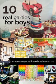 10 Real Birthday Parties for Boys