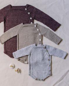 Knitting For Kids, Baby Knitting Patterns, Baby Patterns, Knitted Baby Clothes, Knitted Romper, Baby Boy Outfits, Kids Outfits, Crochet Baby, Knit Crochet