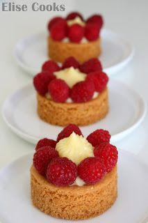Tarte aux fraises et au citron sur sablé breton