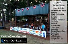 2017 Salem Electric Summer Concerts - Thursdays 6:00 PM - FREE Event